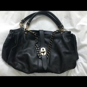 Limited Edition Burberry buffalo leather handbag